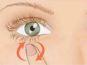 Боль под глазом