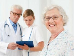 Пациентка и врачи