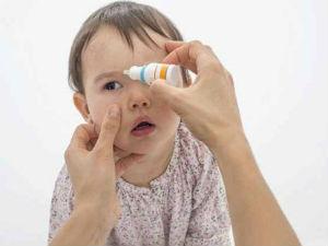 Капли в глаза ребенку