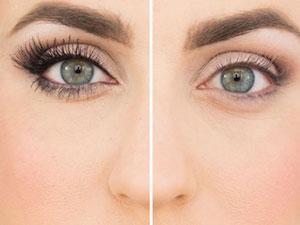 Увеличение глаз макияжем
