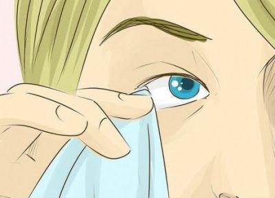 Извлечение инородного предмета из глаза