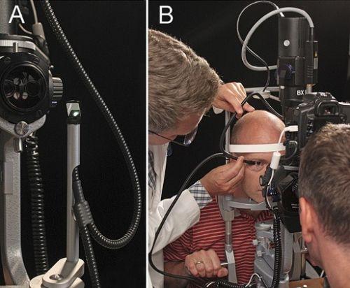 Ход диафаноскопии