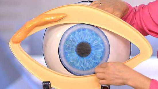 Макет глаза