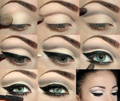 Индийский макияж глаз