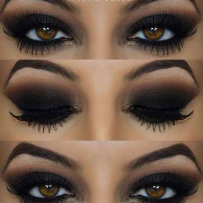 Макияж глаз с кайалом