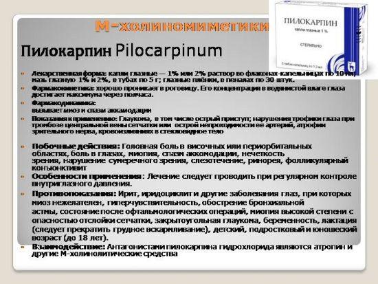 Пилокарпин