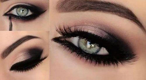 Макияж глаз со стрелками