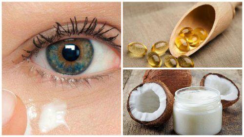 Применение кокосового масла для кожи вокруг глаз