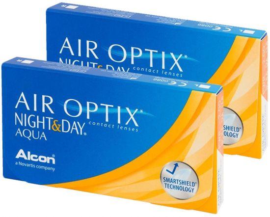 Линзы Air Optix Night & Day AQUA