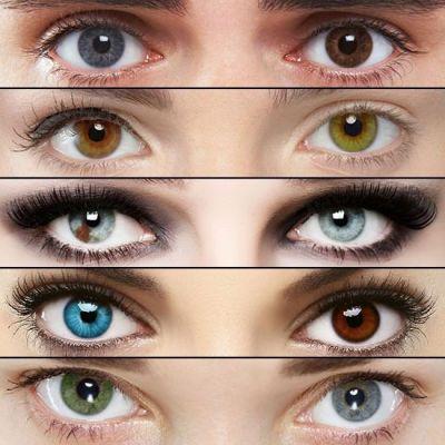 Макияж при разном цвете глаз