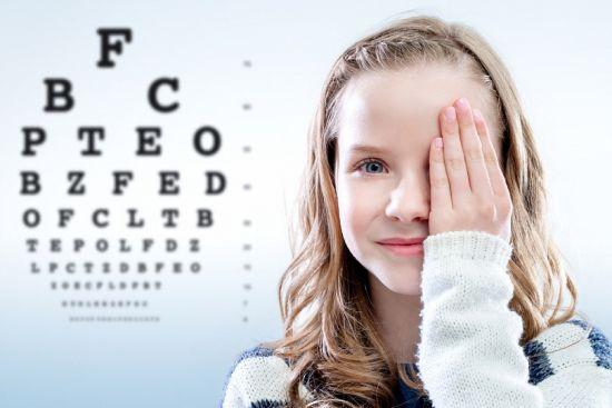 Зрение у ребенка