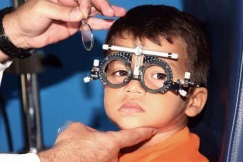 Подбор очков у ребенка