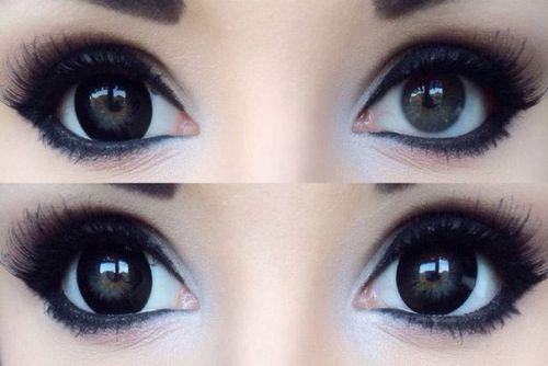 Корейские линзы для увеличения глаз