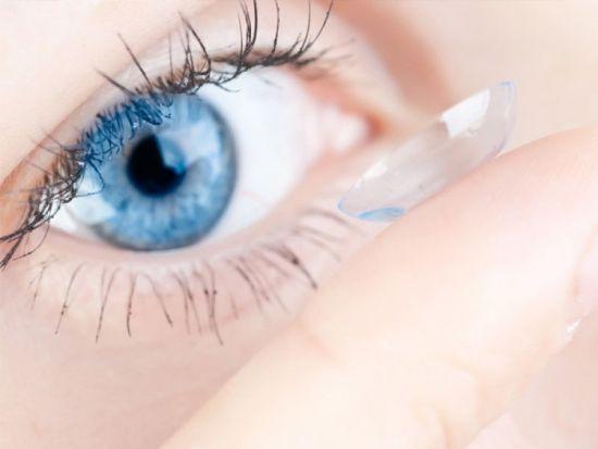 Глаз и контактная линза