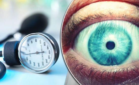 Гипертония и зрение