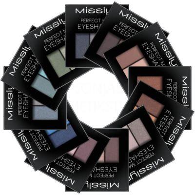 Тени Misslyn Perfect match eyeshadow