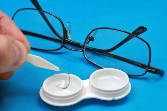 Очки и контактные линзы