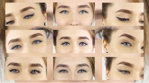 Макияж, изменяющий форму глаз