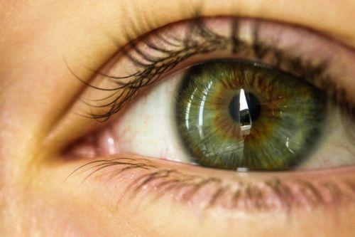 Зелено-карий глаз