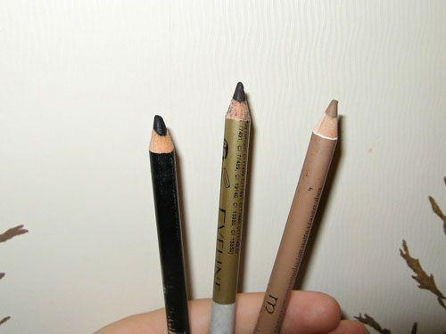Деревянные карандаши для глаз