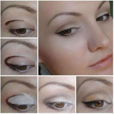 Поэтапное нанесение макияжа