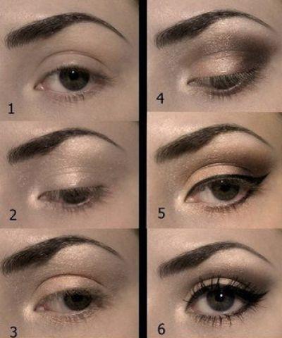 Пошаговый макияж для выпуклых глаз