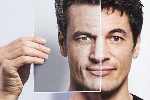 У мужчины стареет кожа