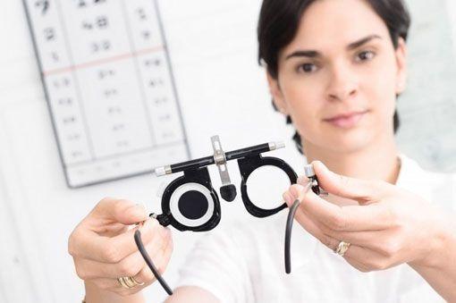 Очки для проверки зрения