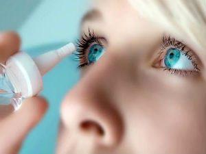 Глазные капли от жжения и покраснения глаз