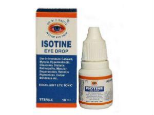 Глазные капли Айсотин