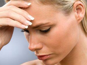 Расстроенная женщина