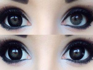 Линзы для увеличения глаз