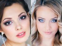 Девушки с макияжем